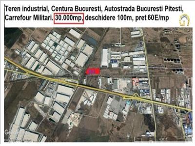Teren industrial Centura Carrefour Militari